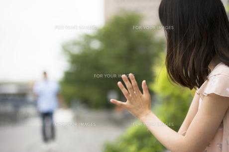 待ち合わせのカップルの素材 [FYI00491488]