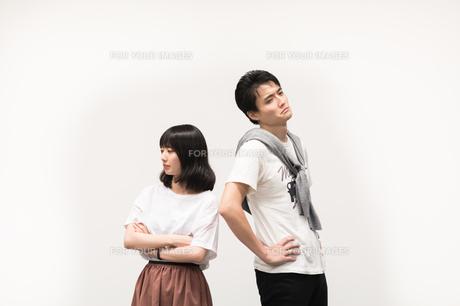 喧嘩をするカップルの写真素材 [FYI00491770]