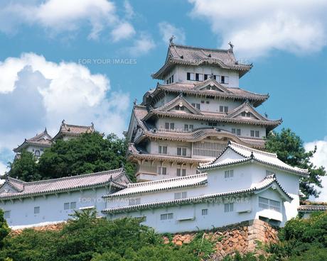 姫路城の写真素材 [FYI00492557]