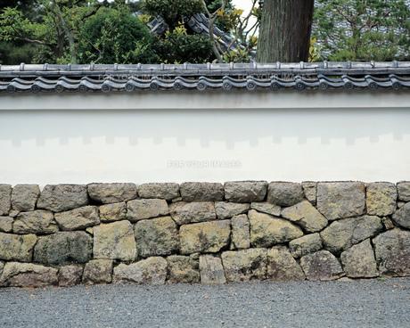塀の写真素材 [FYI00492567]