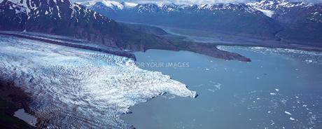 キナイ・フィヨルド氷河の素材 [FYI00492789]