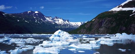 キナイ・フィヨルド氷河の素材 [FYI00492802]