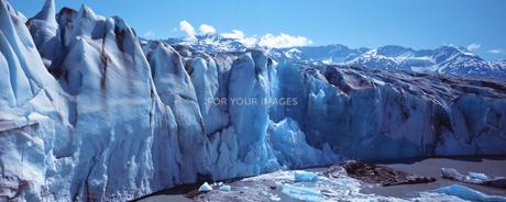 キナイ・フィヨルド氷河の素材 [FYI00492810]