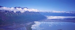 山 湖 アラスカの素材 [FYI00492816]