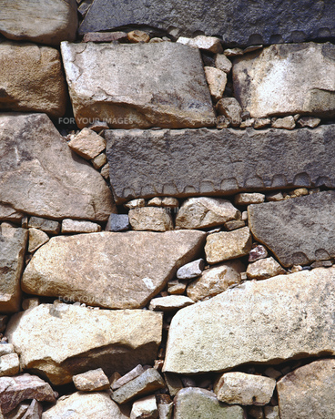 石垣の素材 [FYI00492904]