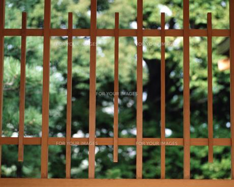和風の窓の素材 [FYI00492931]