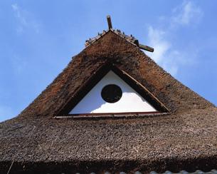 茅葺屋根の素材 [FYI00492950]