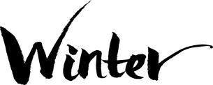 Winter 文字素材の写真素材 [FYI00495734]
