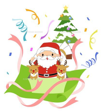 楽しいクリスマスの素材 [FYI00495818]