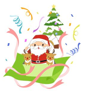 楽しいクリスマスの写真素材 [FYI00495818]