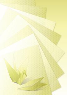 折鶴イメージの素材 [FYI00495820]