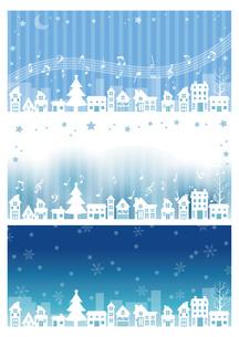 雪の街の写真素材 [FYI00495823]