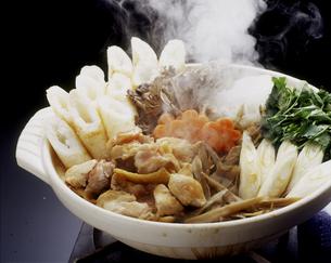 秋田きりたんぽ鍋の写真素材 [FYI00496096]