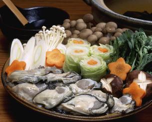牡蠣鍋の具材の写真素材 [FYI00496113]