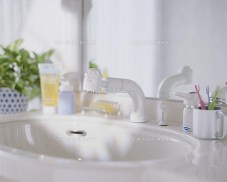 洗面台の写真素材 [FYI00496199]