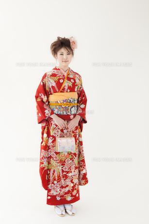 着物姿の女性 宮城県仙台市の写真素材 [FYI00496409]