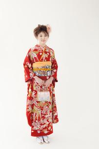 着物姿の女性 宮城県仙台市の素材 [FYI00496409]