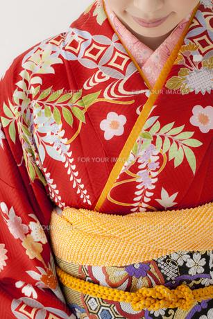 着物姿の女性 宮城県仙台市の写真素材 [FYI00496419]