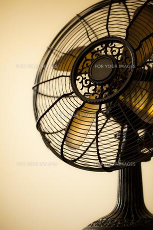 レトロな扇風機の写真素材 [FYI00496468]