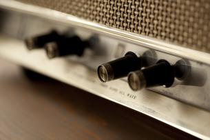 レトロなラジオの写真素材 [FYI00496470]