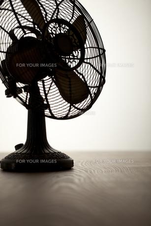 レトロな扇風機の写真素材 [FYI00496480]