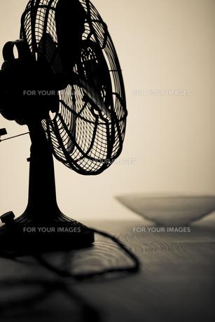 レトロな扇風機の写真素材 [FYI00496481]