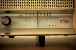 レトロなラジオの写真素材 [FYI00496483]
