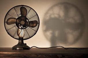 レトロな扇風機の写真素材 [FYI00496500]