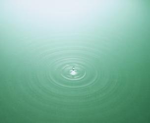 水の波紋の写真素材 [FYI00496519]