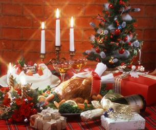 クリスマスディナーの写真素材 [FYI00496663]