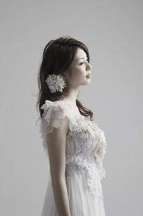 白いドレスの花嫁の素材 [FYI00496863]