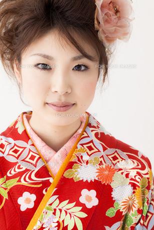 着物姿の女性 宮城県仙台市の素材 [FYI00496999]