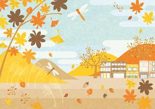 秋の風景の素材 [FYI00497180]