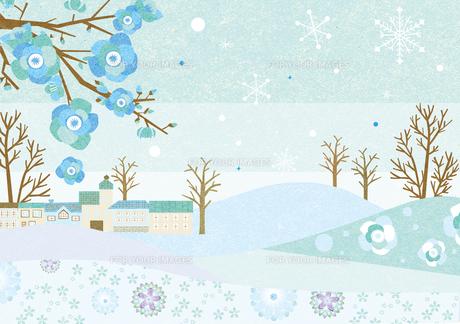 冬の風景の素材 [FYI00497181]