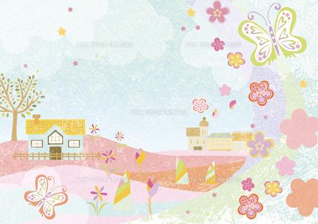 春の風景の素材 [FYI00497183]