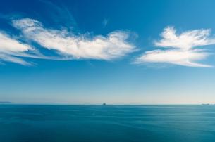 穏やかな海の写真素材 [FYI00497191]