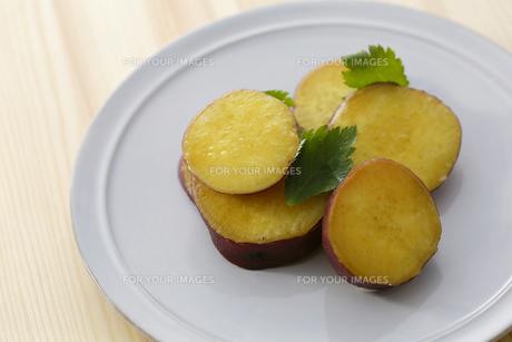 焼きサツマイモの素材 [FYI00497271]