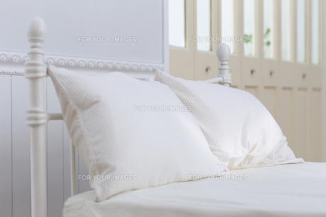 ベッドの写真素材 [FYI00497315]