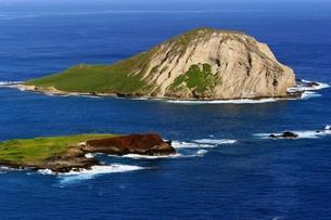 ハワイオアフ島のラビットアイランドの写真素材 [FYI00497499]