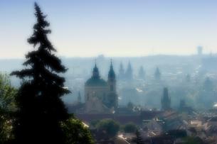 チェコ共和国 プラハの町並みの写真素材 [FYI00497557]