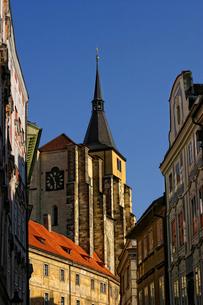 チェコ共和国プラハの街の写真素材 [FYI00497590]