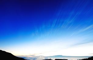 群馬県草津 白根火山付近の朝の様子の素材 [FYI00497620]