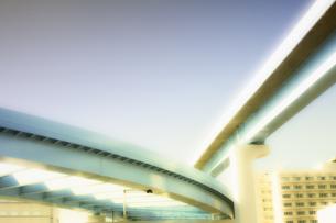 お台場周辺の高架橋の写真素材 [FYI00497644]