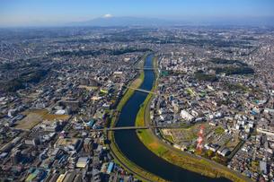 神奈川県 横浜市 港北区 上空付近 空撮の写真素材 [FYI00497735]
