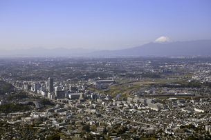 神奈川県 新横浜駅 上空付近 空撮の写真素材 [FYI00497739]