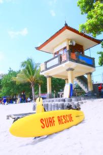 インドネシア共和国 バリ島クタビーチの様子の写真素材 [FYI00497903]