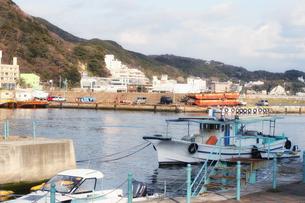 下田港と船の写真素材 [FYI00498007]