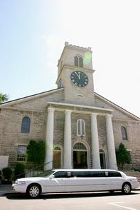 オアフ最古の由緒ある教会 カワイアハオ教会の写真素材 [FYI00498029]