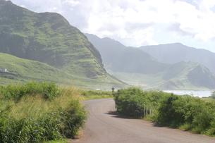 ハワイオアフ島、ヨコハマベイの様子の写真素材 [FYI00498053]
