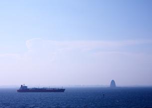 海ほたるより東京方面を望むの写真素材 [FYI00498139]